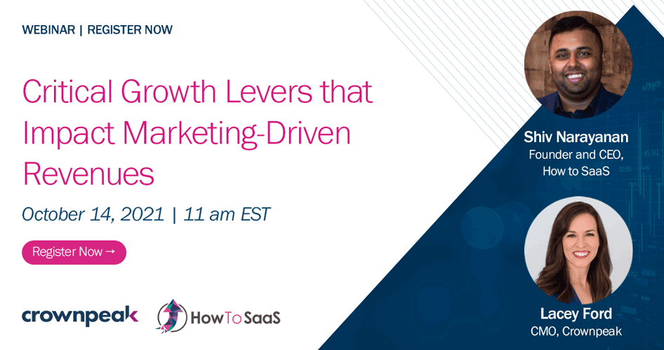 Critical Growth Levers that Impact Marketing-Driven Revenues