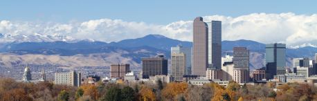 Panoramic view of Denver