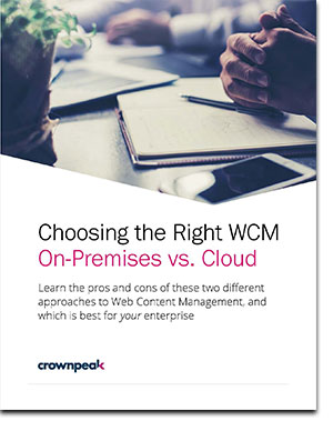 Choosing the Right WCM